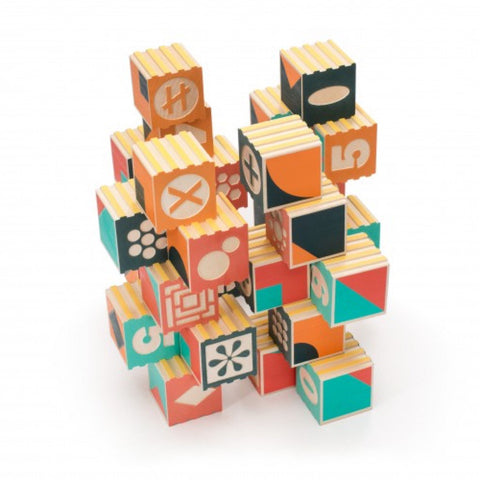 Uncle Goose - Groovie Blocks Math with Patterning