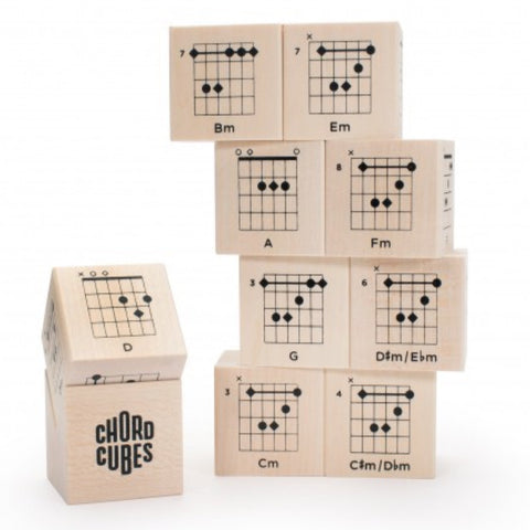 Uncle Goose | Guitar Chords Cubes