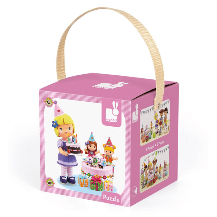 Janod - Juliettes Birthday Puzzle - 24 and 36 Piece