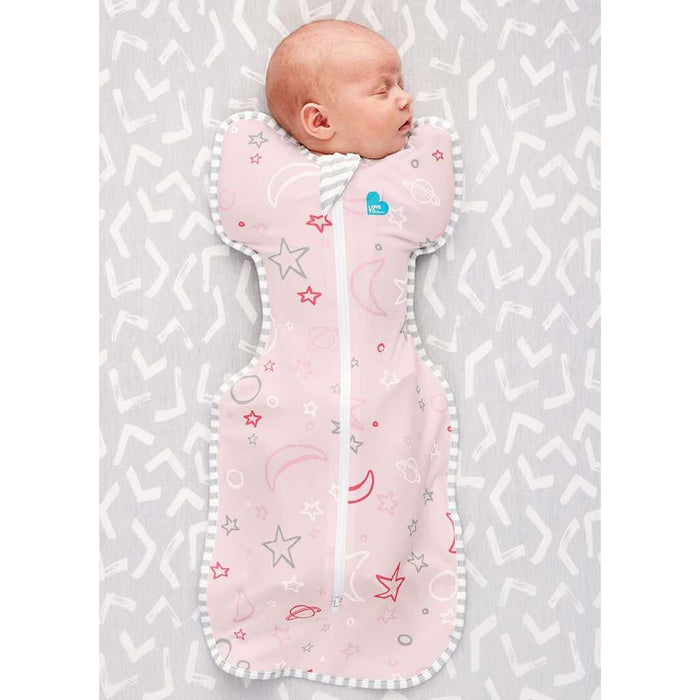 Love To Dream - 1.0 tog Bamboo Original Baby Sleeping Bag Pink