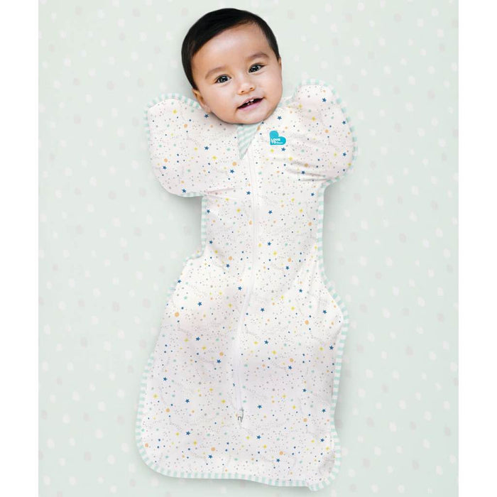 Love To Dream - 0.2 tog Swaddle UP Organic Lite GOTS Certified Cream