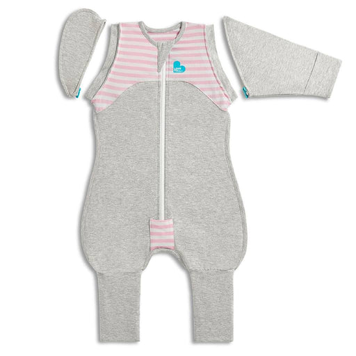 Love To Dream - 1.0 tog Swaddle Up Transition Suit Original Pink