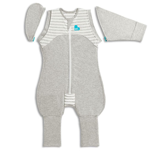 Love To Dream - 1.0 tog Swaddle Up Transition Suit Original Grey