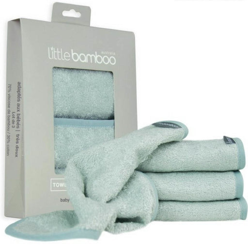 Little Bamboo - Towelling Washer 3-pack Super Soft Whisper