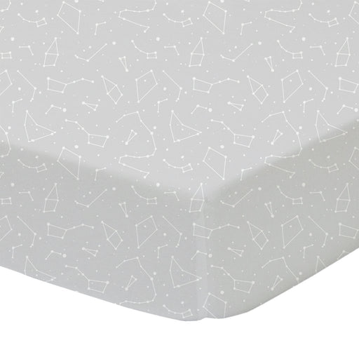 Living Textiles Lolli Living Cot Sheet Constellation