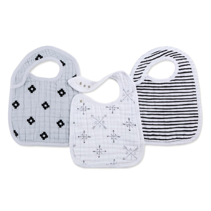 Aden and Anais | Classic Snap Bibs 3-pack LoveStruck