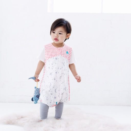 Love To Dream - 0.2 tog Love To Dream Sleep Suit Pink