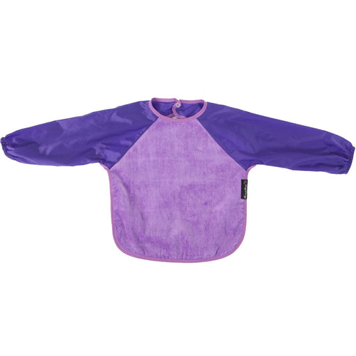 Mum2Mum - Sleeved Bib Purple