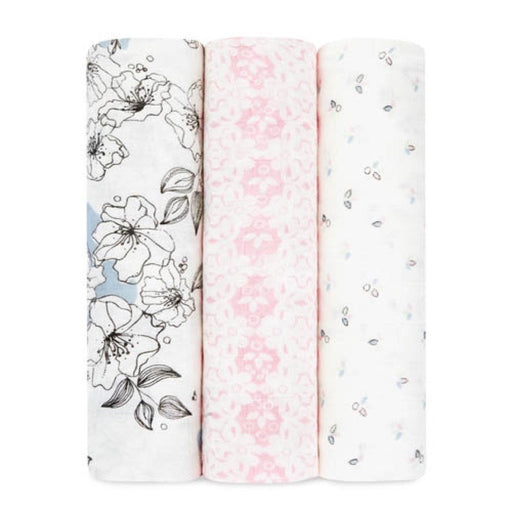 Aden and Anais | Bamboo Silky Soft Swaddles 3-pack Meadowlark