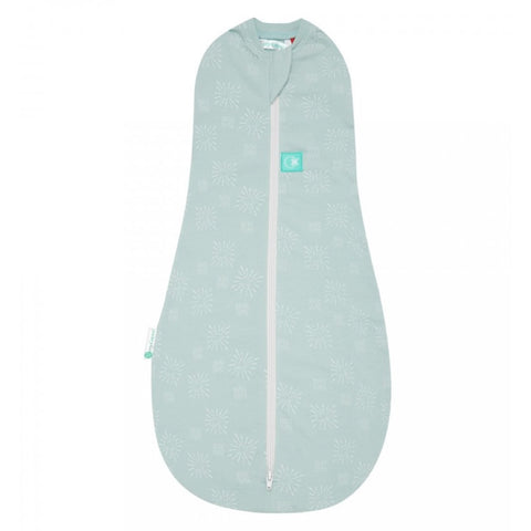 ergoPouch -  0.2 tog Swaddle & Sleep Bag ergoCocoon Summer Mint Star