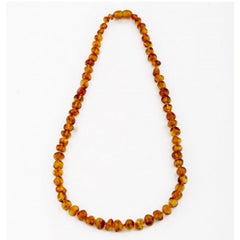 Nature's Child Baltic Amber Necklace Cognac