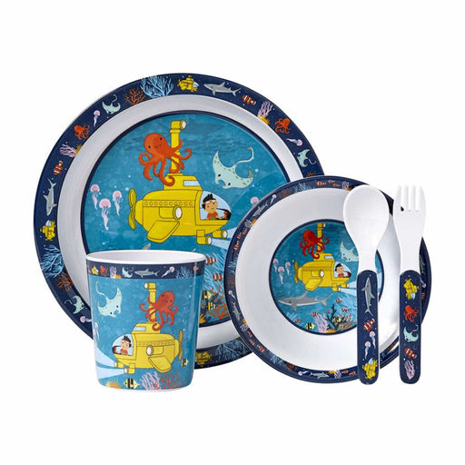 Ashdene 5 Piece Dinner Set Ocean Explorer