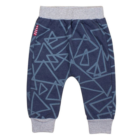 Sookibaby - Sweat Pants Boys Abstract Blue