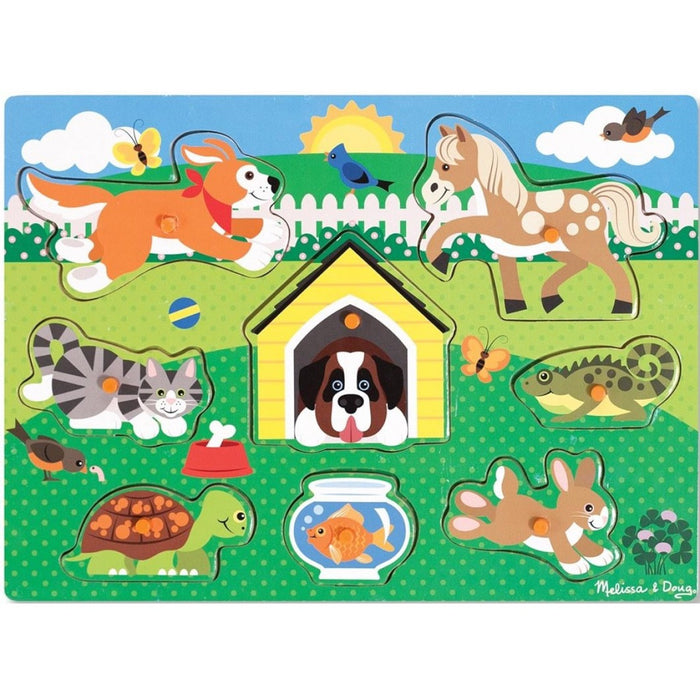 Melissa and Doug - Peg Puzzle Pets