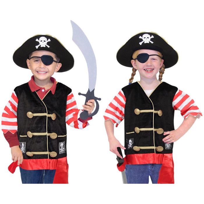 Melissa and Doug | Pirate Role Play Costume Set