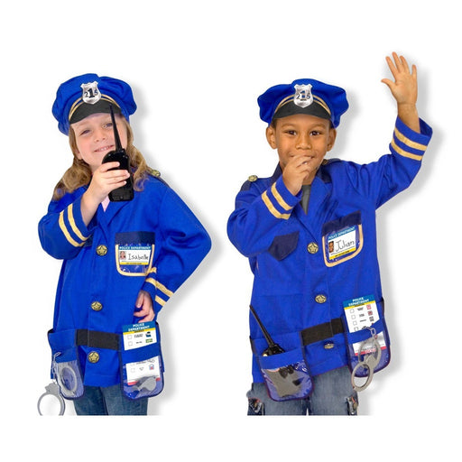 Melissa and Doug | Police Officer Role Play Costume Set