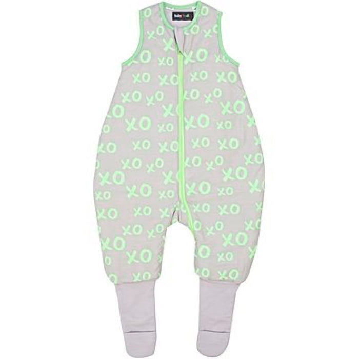 Baby Studio - 2.5 tog Cotton Reversible Warmies XO Lime