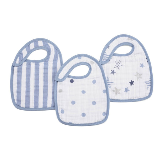Aden and Anais | Classic Snap Bibs 3-pack Rock Star