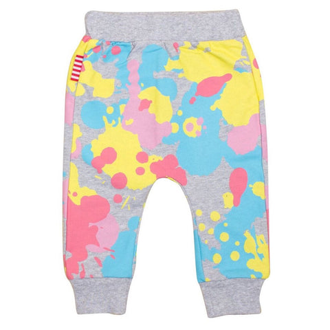 Sookibaby - Sweat Pants Girls Paint Splash