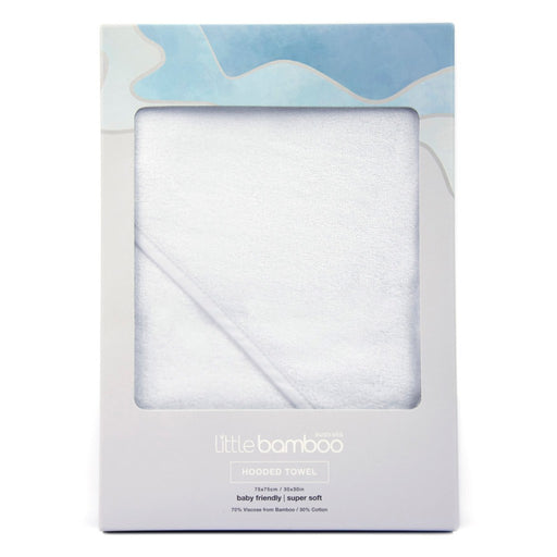 Little Bamboo Hooded Towel Single Pack Natural