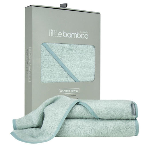 Little Bamboo - Hooded Towel Single Pack Whisper