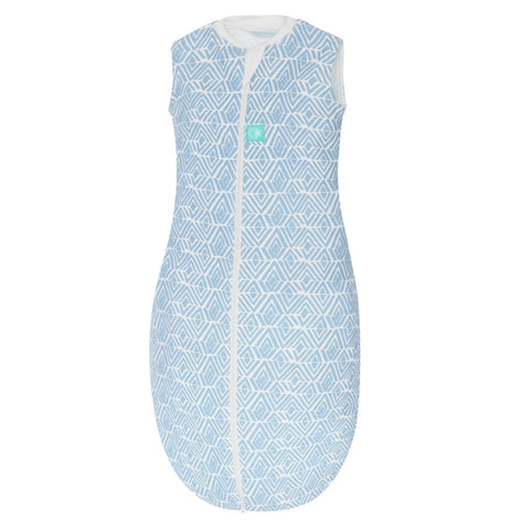 ergoPouch - 1.0 tog Jersey Sleep Bag Tribal Blue