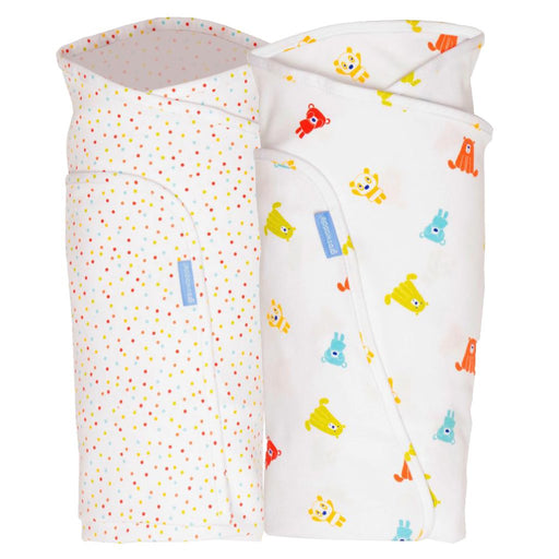 Gro Company | Gro-Swaddle Young Baby Blanket 2-pack Spotty Bear