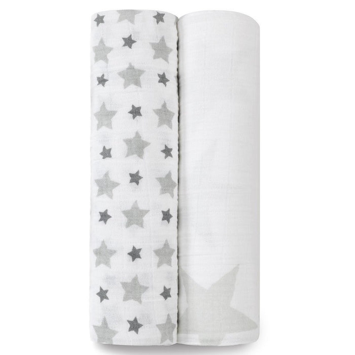Aden and Anais - Classic Swaddles 2-pack Twinkle