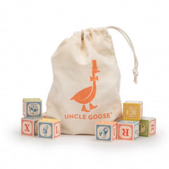 Uncle Goose | Classic ABC Blocks with Canvas