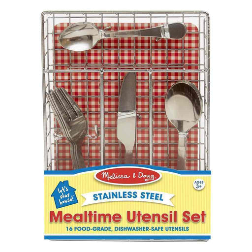Melissa and Doug - Let's Play House! Mealtime Utensil Set
