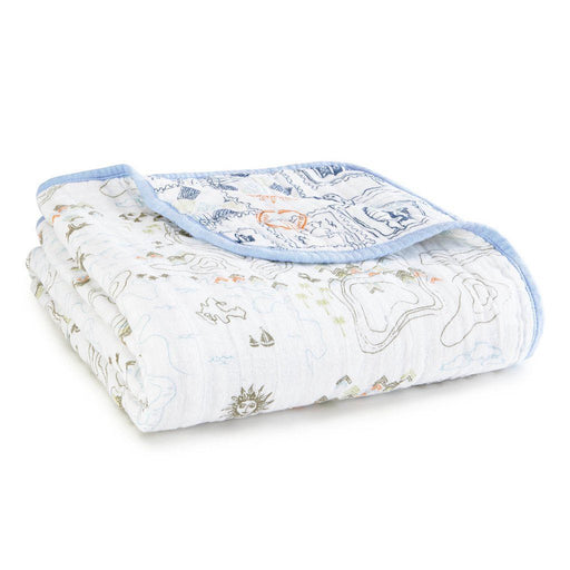 Aden and Anais - Organic Cotton Dream Blanket Warrier Fin