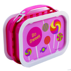 Yubo Lunch Box - Lollies (Pink)
