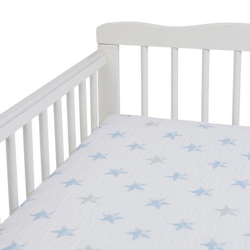 Aden by Aden and Anais - Muslin Cot Sheet Dapper Stars