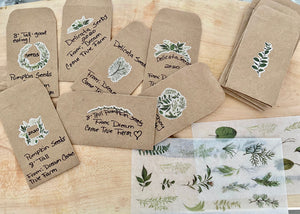 Make your own Seed Packets Kit