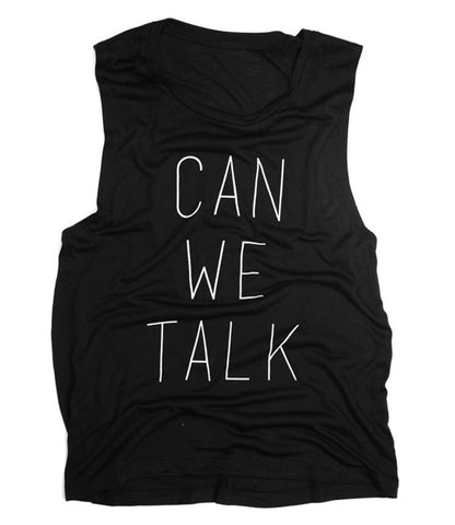 Can We Talk - Scoop Muscle (Black)
