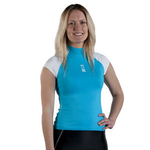 Ladies Short Sleeve Hydroskin