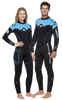 WOMEN'S W50 5MM FULL WETSUIT BACKZIP