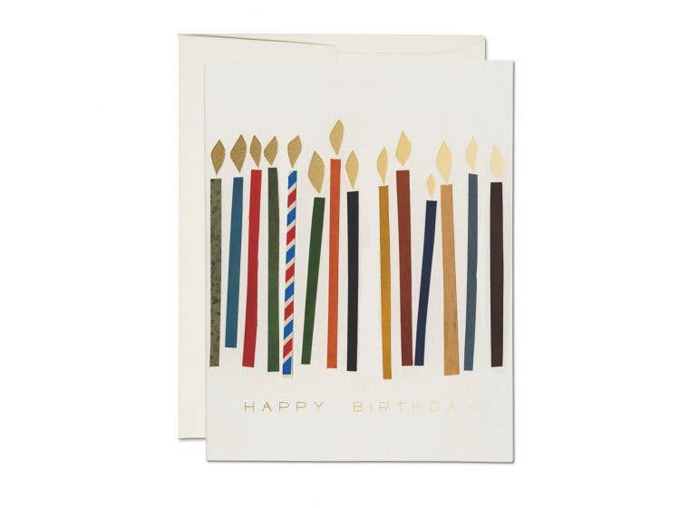 Red Cap Cards - Candles