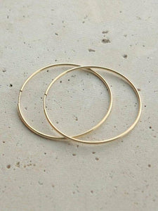 Go Rings - Gold Endless Hoops