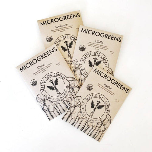 Seattle Seed Co. - Microgreens Sampler Pack