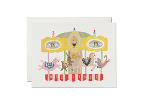 Red Cap Cards - Merry-Go-Round