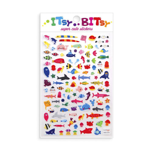 OOLY - Itsy Bitsy Stickers - A Little Sea life