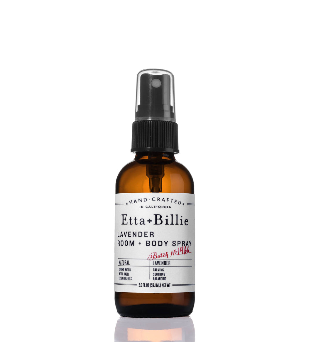 Etta + Billie - Lavender Room + Body Spray 2oz