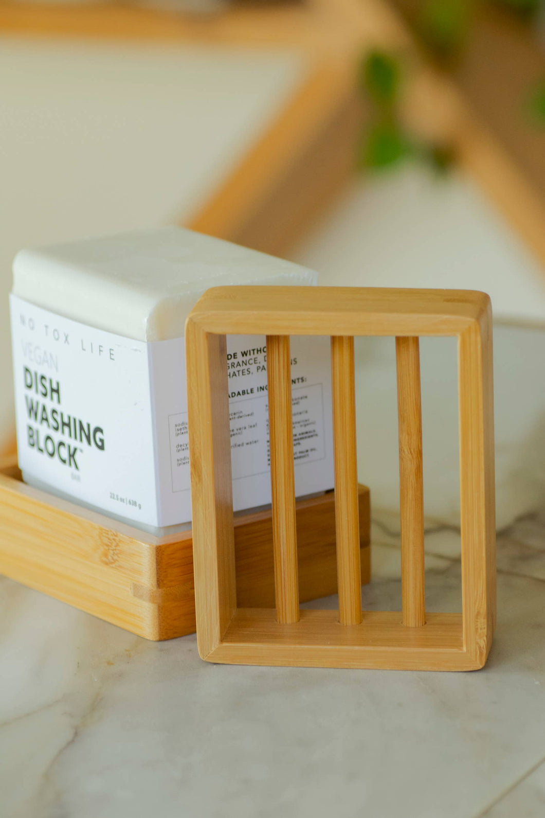 No Tox Life - Moso Bamboo Soap Shelf