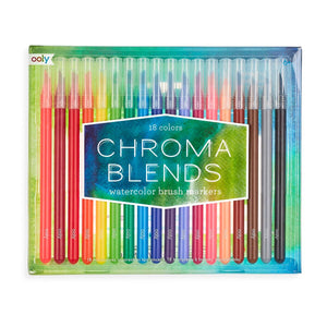 OOLY - Chroma Blends Watercolor Brush Markers