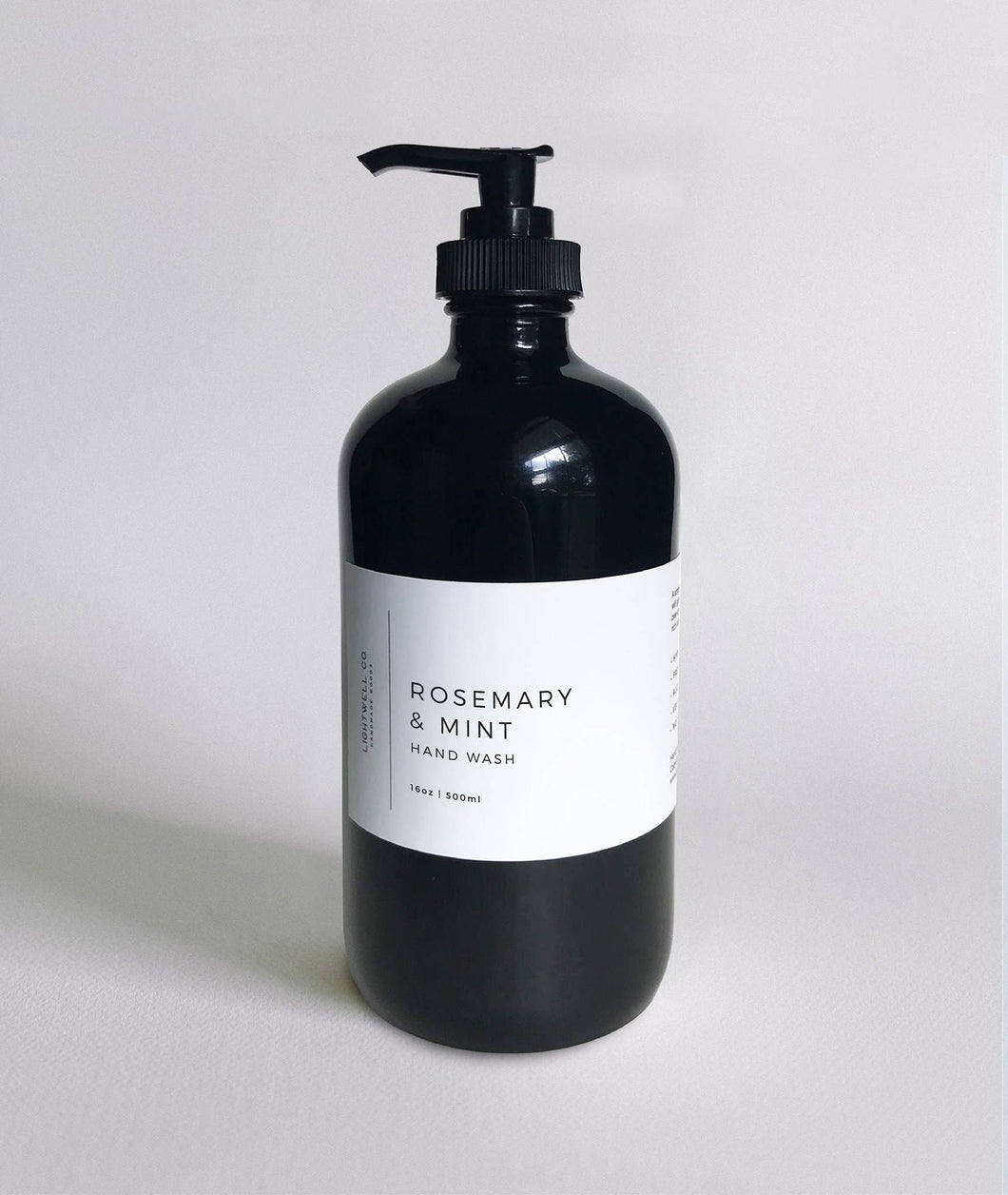 Lightwell Co - Rosemary & Mint Hand Wash