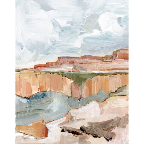 Laurie Anne Art - Ravine Vertical Canvas Print