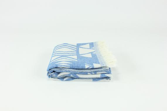 TURKISH LINEN & TOWELS, LLC - Premium Double Layer Turkish Towel Peshtemal Fouta