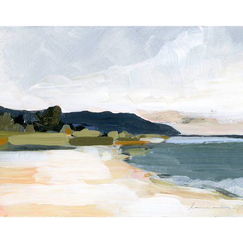 Laurie Anne Art - North Shore Horizontal Canvas Print