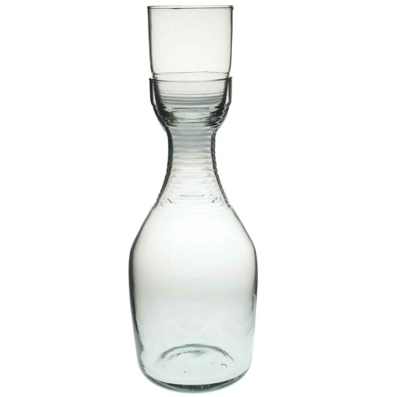 Tall Glass Carafe Set